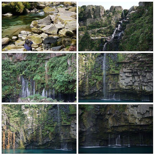 大自然の造形美「雄川の滝」訪問記より